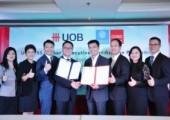 พิธีลงนามบันทึกข้อตกลงความร่วมมือโครงการ ''UOB-TBS Banker's Executive Certification Programme'''