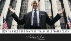 How to Make Your Company Financially World Class