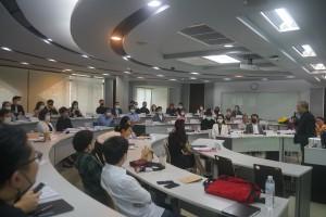 ภาพพิธีเปิดโครงการอบรม หลักสูตรพัฒนาผู้บริหารธุรกิจอสังหาริมทรัพย์ (Mini MRE @ tbs) รุ่นที่ 31