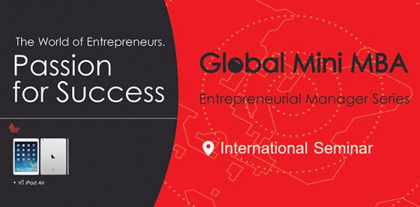 เธซเธฅเธฑเธ�เธชเธนเธ�เธฃ เธ�เธฑเธ�เธ�เธฒเธ�เธนเน�เธ�เธฃเธดเธซเธฒเธฃ Global Mini MBA  : (Entrepreneurial Manager Series)