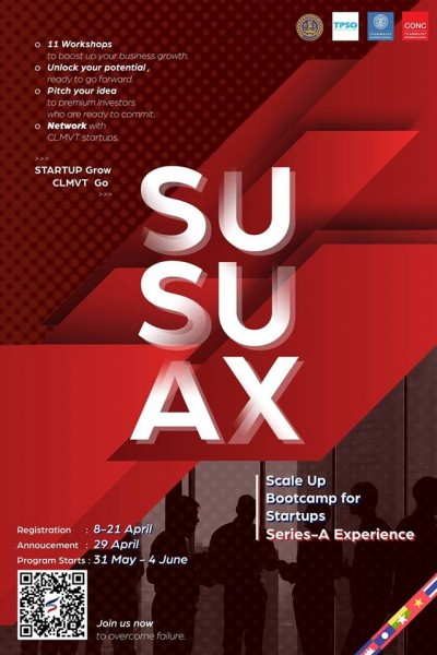 ''Scale Up Bootcamp for Startups'' (SUSU/AX)